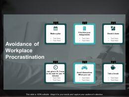 avoidance_of_workplace_procrastination_ppt_powerpoint_presentation_inspiration_slide_portrait_Slide01
