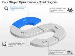 4603851 Style Circular Zig-Zag 4 Piece Powerpoint Presentation Diagram Infographic Slide