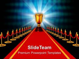 Awards presentation slide team award on red carpet competiton powerpoint templates ppt themes and graphics 0113 toneelgroepblik