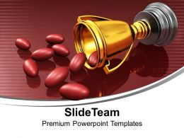 Award Winning Ingredients Winner Trophy PowerPoint Templates PPT Themes And Graphics 0113