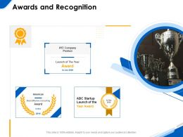 Awards And Recognition R207 Ppt Powerpoint Presentation Icon Clipart