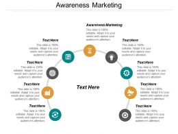 Awareness Marketing Ppt Powerpoint Presentation File Show Cpb