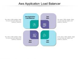 Aws Application Load Balancer Ppt Powerpoint Presentation Infographic Template Background Cpb