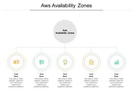 Aws Availability Zones Ppt Powerpoint Presentation Portfolio Objects Cpb