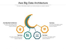 Aws Big Data Architecture Ppt Powerpoint Presentation Outline Gridlines Cpb