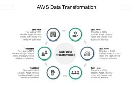 AWS Data Transformation Ppt Powerpoint Presentation Gallery Picture Cpb