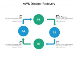 AWS Disaster Recovery Ppt Powerpoint Presentation Portfolio Background Designs Cpb