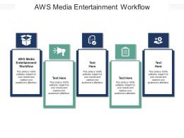 Aws Media Entertainment Workflow Ppt Powerpoint Presentation Infographic Template Cpb