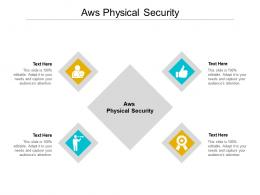 Aws Physical Security Ppt Powerpoint Presentation Layouts Template Cpb