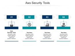 Aws Security Tools Ppt Powerpoint Presentation Show Ideas Cpb