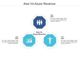 Aws Vs Azure Revenue Ppt Powerpoint Presentation Pictures Inspiration Cpb