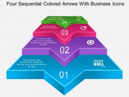 ax_four_sequential_colored_arrows_with_business_icons_powerpoint_template_Slide01