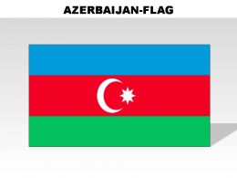 Azerbaijan Country Powerpoint Flags