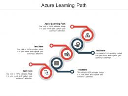 Azure Learning Path Ppt Powerpoint Presentation Layouts Elements Cpb
