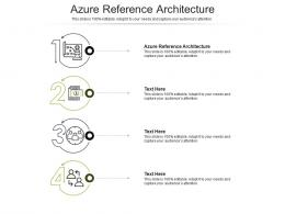 Azure Reference Architecture Ppt Powerpoint Presentation Information Cpb