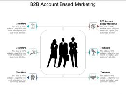 B2b Account Based Marketing Ppt Powerpoint Presentation File Gallery Cpb