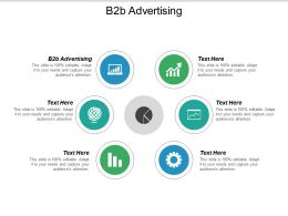 B2B Advertising Ppt Powerpoint Presentation Slides Skills Cpb