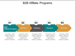 B2B Affiliate Programs Ppt Powerpoint Presentation Pictures Ideas Cpb