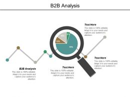 B2b Analysis Ppt Powerpoint Presentation Pictures Cpb