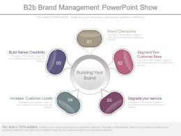 B2b Brand Management Powerpoint Show