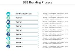 B2B Branding Process Ppt Powerpoint Presentation File Gallery Cpb