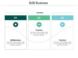 B2B Business Ppt Powerpoint Presentation Slides Structure Cpb