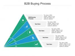 B2B Buying Process Ppt Powerpoint Presentation Summary Images Cpb