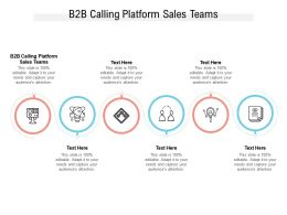 B2B Calling Platform Sales Teams Ppt Powerpoint Presentation Outline Graphics Cpb