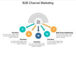 B2b Channel Marketing Ppt Powerpoint Presentation Pictures Backgrounds Cpb
