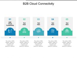 B2B Cloud Connectivity Ppt Powerpoint Presentation Infographic Template Themes Cpb