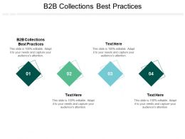 B2B Collections Best Practices Ppt Powerpoint Presentation Icon Graphics Example Cpb