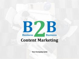B2b Content Marketing Awareness Of Need Analysis And Comparison