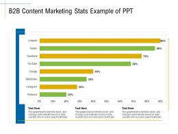 B2B Content Marketing Stats Example Of PPT Marketing Roadmap Ideas Acquiring Customers Ppt Ideas