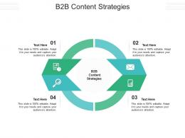 B2B Content Strategies Ppt Powerpoint Presentation Slides Graphics Example Cpb