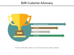 B2b Customer Advocacy Ppt Powerpoint Presentation Outline Templates Cpb