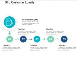 B2b Customer Loyalty Ppt Powerpoint Presentation Styles Gallery Cpb