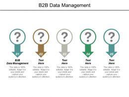 B2b Data Management Ppt Powerpoint Presentation Outline Slide Download Cpb