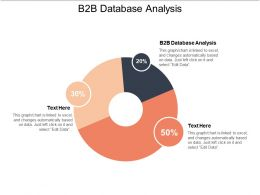 B2b Database Analysis Ppt Powerpoint Presentation File Background Designs Cpb