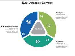 B2B Database Services Ppt Powerpoint Presentation Icon Graphics Tutorials Cpb