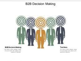 B2B Decision Making Ppt Powerpoint Presentation Infographic Template Portfolio Cpb
