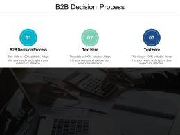 B2B Decision Process Ppt Powerpoint Presentation File Visual Aids Cpb