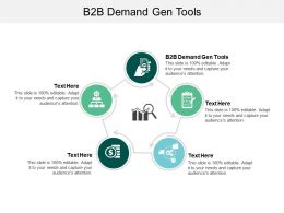 B2B Demand Gen Tools Ppt Powerpoint Presentation Slides Picture Cpb