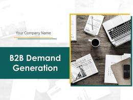 B2B Demand Generation Powerpoint Presentation Slides
