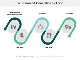 B2B Demand Generation Solution Ppt Powerpoint Presentation Professional Picture Cpb