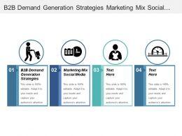 B2b Demand Generation Strategies Marketing Mix Social Media Increase Revenue Cpb