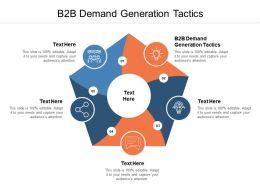 B2B Demand Generation Tactics Ppt Powerpoint Presentation Inspiration Cpb
