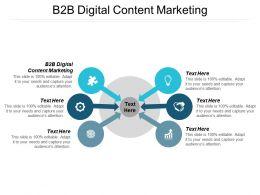 B2B Digital Content Marketing Ppt Powerpoint Presentation Summary Aids Cpb