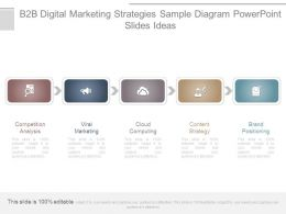 B2b Digital Marketing Strategies Sample Diagram Powerpoint Slides Ideas