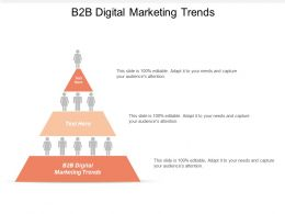 B2B Digital Marketing Trends Ppt Powerpoint Presentation File Good Cpb