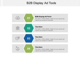 B2B Display Ad Tools Ppt Powerpoint Presentation Icon Grid Cpb